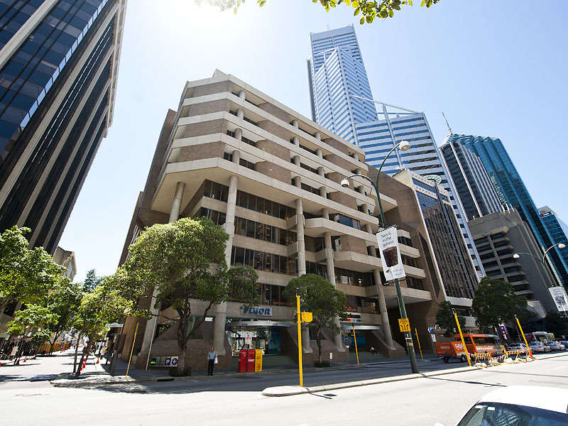 The atrium for 111 st georges terrace perth wa 6000